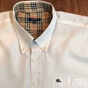 Burberry Button Up Made in London
